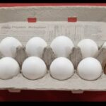 Carton of free range eggs
