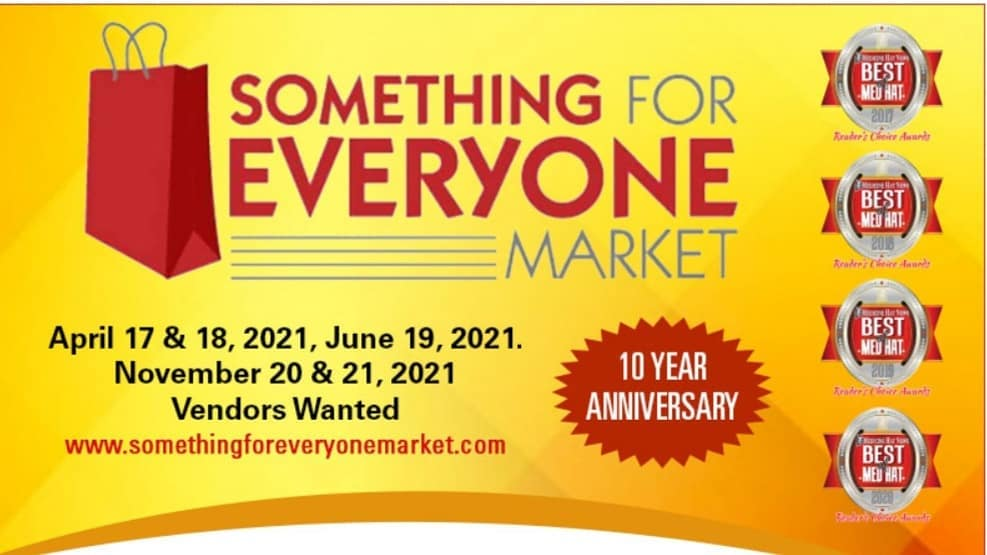 Something For Everyone Market Poster